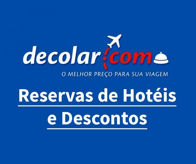Decolar Hotéis – Reservas e Descontos