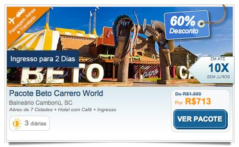 Pacote Beto Carrero World