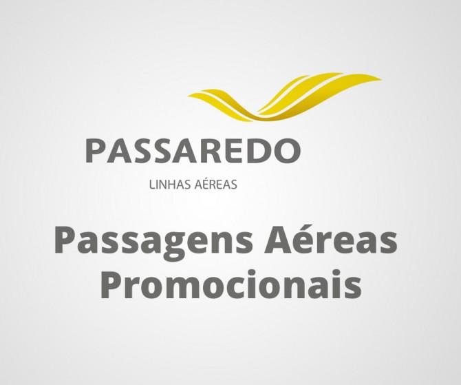 Passaredo Passagens Aéreas Promocionais